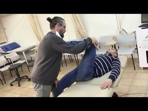 איך לטפל בכאבי גב ? שחרור שריר הפסואס בשיטת טיפול אנמו טווינא עם אלפונס טרשל