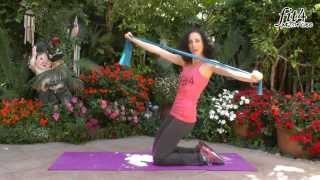 תרגילי חיזוק לשרירי הירכיים, הזרועות והבטן