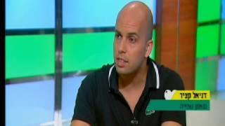דניאל קציר מתראיין אצל רפי קרסו בערוץ 10