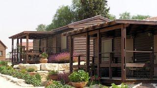 גן הכרמים   חופשה כפרית בנגב   Cramim Garden   Negev Wooden Cabins