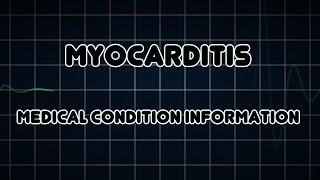 Myocarditis (Medical Condition) דלקת שריר הלב