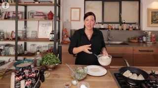 מתכוני סוגת: דג דניס צלוי עם טאבולה של גריסי פנינה