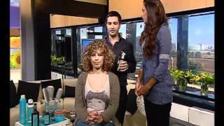 פתרונות לשיער מתולתל » עיצוב שיער תלתלים »חלק 2