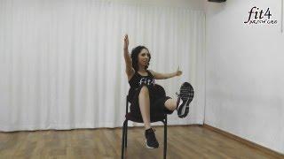 Fit4 Chair - ירכיים, זרועות ובטן עם כיסא