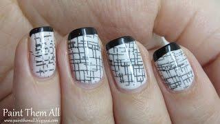 Black & White Nails | מדריך קישוט ציפורניים: שחור-לבן