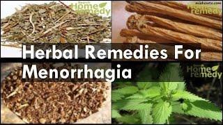 Remedies For Menorrhagia יתר וסת