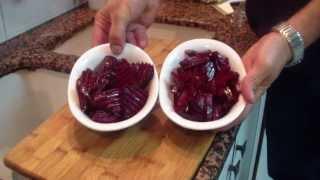 סלט סלק אדום, ברבה, מאיר ממן מבשל - ראו מתכון כתוב ומפורט
