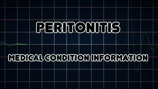 Peritonitis (Medical Condition) דלקת המעטפת