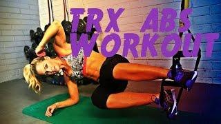 אימון שרירי בטן TRX