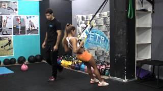 אימון עם רצועות TRX
