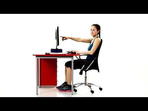 פיזיותרפיה 75 - ישיבה נכונה מול מחשב (ארגונומיה)