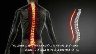 כאבי גב, פריצת דיסק ולחץ נפשי - טיפול מהפכני עדין ללא תרופות וניתוחים