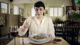 ננה שרייר- מתכון לסלט שעועית גרוזיני מיוחד לראש השנה