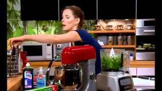 מרק יוגורט עיזים, מלפפונים ונענע - ליה שומרון