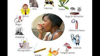 סימנים וגורמים למחלה אסטמה, קצרת