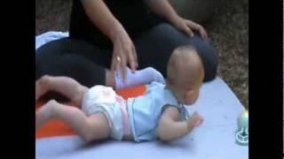 התפתחות של תינוקות - קשר עין יד פה ,התהפכות אל הבטן