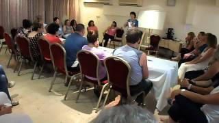 רוני בנימין - הרצאה בים המלח