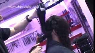 דניאל בן אלישע- עיצוב שיער פן  לשיער מתולתל