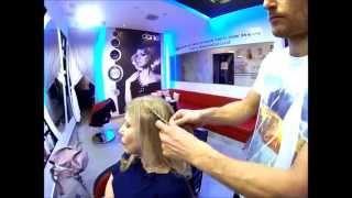עיצוב שיער איך לעשות צמה משולבת דניאל בן אלישע