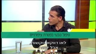 פרופ' קרסו עם שלומי סמלסון: טיפול ארומתרפיה טבעי בפטרת ציפורניים