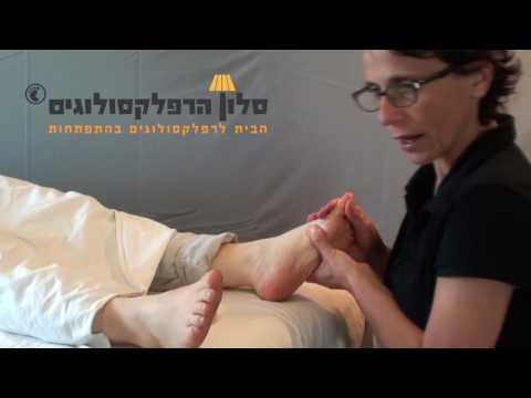 סלון הרפלקסולוגים - טיפול לכאב גב תחתון