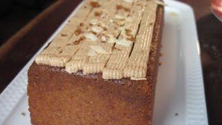 עוגת דבש בציפוי גלאסז' חום של מיקי שמו מתוך 'מיקי שמו אופה מהלב - מהדורת קיץ', ערוץ האוכל
