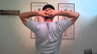 צוואר  תפוס - תרגילים לשחרור צוואר תפוס, כאבי צוואר