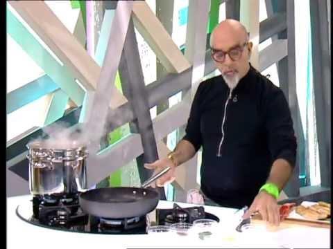 השף אהרוני- פילה פורל על מצע פסטה ברוטב חמאה ולימון