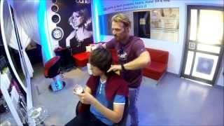 עיצוב שיער גברים -פן לשיער קצר דניאל בן אלישע Short Hairstyle