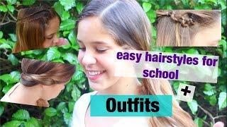 3 תסרוקות קלות לבית ספר + רעיונות לתלבושת ועוד...