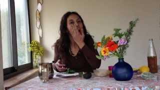 מסיכה טבעית לפנים - חלק 4