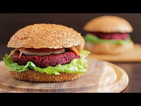 מתכון להמבורגר סלק טבעוני