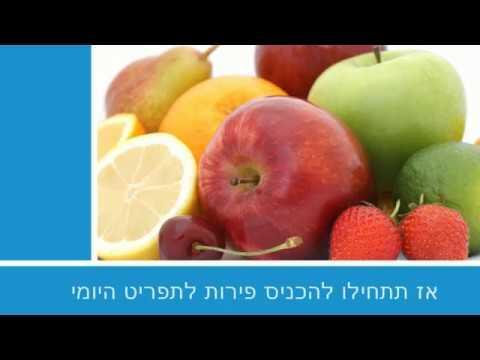 8 הפירות הבריאים שמומלץ להכניס לתפריט היומי
