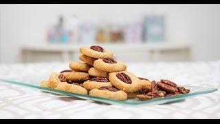 מתכונים ברשת - סודות מתוקתקים עם קרין גורן - עוגיות טחינה עם קיצורי דרך