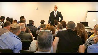מאסטר קלאס - אימון עסקי מול קהל - דני וידיסלבסקי, יועץ עסקי