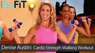 Denise Austin: Cardio Strength Walking Workout