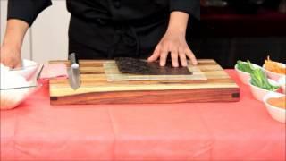 איך מכינים סושי-רול פוטו מאקי של השף אלעד שוקר
