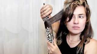 עיצוב שיער עם מחליק- ככה תוכלי לעשות את זה בבית.אלה אברמוב